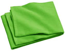 lime green towel royal comfort silky velour beach towel 32 x 64 at