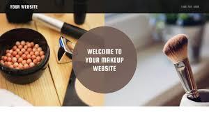 Makeup Artist Websites Makeup Website Templates Godaddy