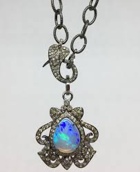 opal pendant necklace images Lotasi jewels opal pendant necklace townhome jpg