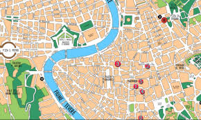 Italy Map Cities by Rome Map