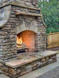 outdoor fireplace plans diy home design ideas
