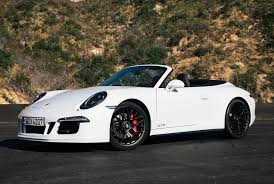 white porsche 911 convertible review porsche 911 gts gear patrol
