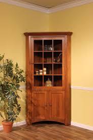 cherry wood corner cabinet fisher s quality furniture corner unit like it in mahogany finish