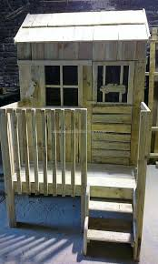 62 best pallet playhouse images on pinterest pallet playhouse