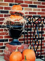 pumpkin topiary how to make a pumpkin topiary hgtv