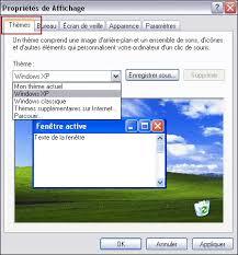 mettre les favoris sur le bureau personnaliser l affichage du bureau et de windows xp