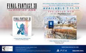 final fantasy 12 the zodiac age collector u0027s edition comes with a