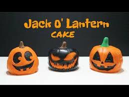 jack o u0027 lantern cake halloween bakes youtube
