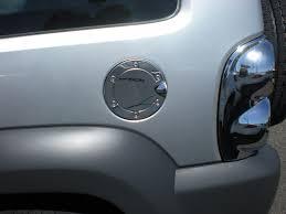 gas cap light jeep jeep liberty chrome fuel door gas cap cover petro trim
