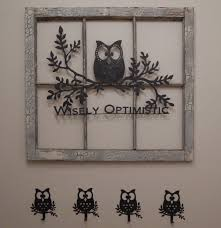Owl Decor Owl Wall Hooks Set Of 3 Owl Decor Coat Rack Towel Rack Bedroom