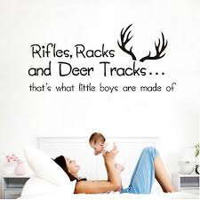 rifles racks and deer tracks that u0027s what boys are made