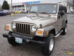 2005 jeep unlimited 2005 jeep wrangler unlimited 4x4 in light khaki metallic 383731