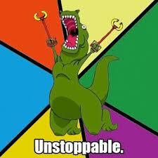 Funny T Rex Meme - unstoppable t rex meme hands funny and clever t rex memes