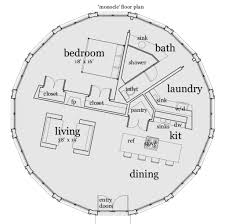 U Condo Floor Plan by Roundhouse Floor Plan Part 19 Round House Plans Small House