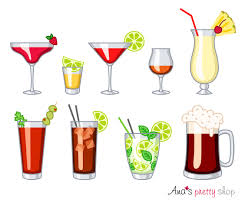 cosmopolitan clipart alcohol glasses clipart drinks daiquiri tequila cosmopolitan