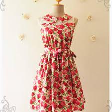 shop pink peter pan collar dress on wanelo
