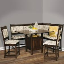 amish breakfast nooks solid wood corner dining nooks handmade