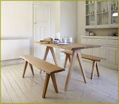 murphy table and benches building a bench seat for kitchen table with regarding small plan 14