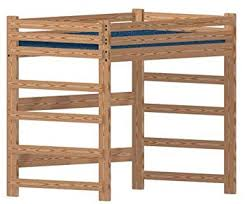 amazon com loft bed diy woodworking plan to build your own full