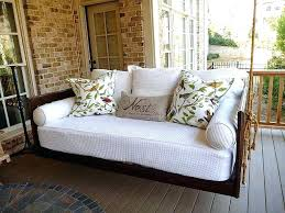 Swing Cushion Replacements by Porch Swing Cushions Amazon Patio Replacement Costco And Canopy