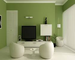 home design minimalist living room with cabinet shelves and led