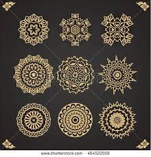 thai design design elements graphic thai design abstract stock vector