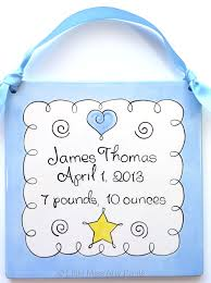 Baby Plaques Birth Announcement Plaques Little Miss Arty Pants