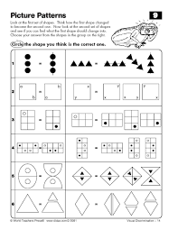 visual spatial worksheets free worksheets library download and