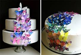 butterfly cake toppers edible butterfly cake toppers by sugar robot chickabug