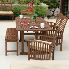 Chair Acacia Wood Dining Table Chairs Furniture Idea Wood Dining Amazon Com We Furniture Solid Acacia Wood Patio Chairs Set Of 2