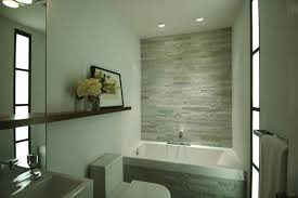 Bathroom Mirror Remodel by Bathroom Dark Brown Wood Mirror With White Waterfall Shower And