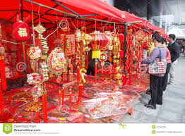 New Year Decorations 2014 by Chinese Lunar New Year Decorations Editorial Stock Image Image