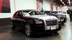 roll royce orange 2011 rolls royce ghost at eurocar in orange county 2012 youtube
