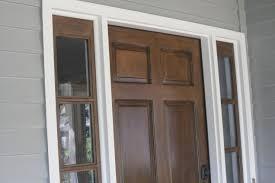 fiber glass door attractive refinish fiberglass door staining your door without