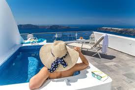 belã ge fã r balkone guestbook villa lukas studios and suites in santorini imerovigli