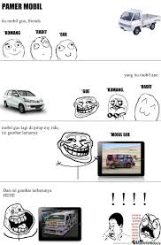 Meme Mobil - pamer mobil by edokopong meme center