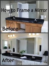 framed bathroom mirror cabinet diy bathroom mirror frame for under 10 blue wood stain mirror