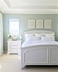 Gray White Bedroom Walls Are Restoration Hardware Silver Sage Gray Green Blue