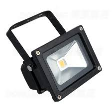 free shipping low price black cover 10w led flood light warm white