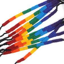 friendship bracelet rainbow images Rainbow friendship bracelets fair trade from siesta jpg