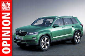 seven seater and coupe 4x4 to lead skoda suv assault auto express
