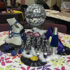 Disco Party Centerpieces Ideas by Disco