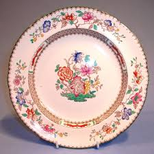 copeland spode dinner plate 9 rd no 629599 sold