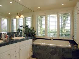 ideas for bathroom window treatments which shutters are right for a bathroom