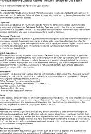 petroleum operator resume samples vinodomia