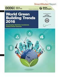 world green building trends 2016 world green building council