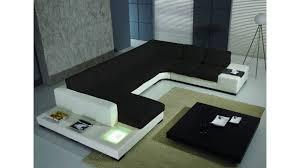 canape cuir blanc angle canapé design denver un magnifique canapé cuir d angle panoramique