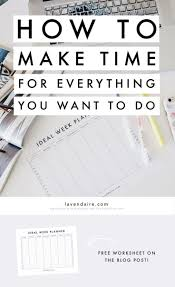 the 25 best time management worksheet ideas on pinterest time