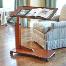 hospital style bedside table rolling bedside table walnut bedside rolling work table hospital bed