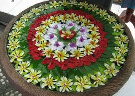 decoration flowers water rangoli designs rangoli floating flowers decoration and